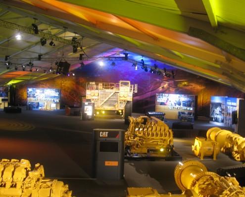 Caterpillar tent MINExpo 2008 Las Vegas